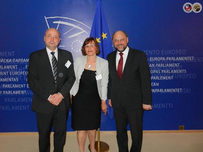Parlament Europejski Prezydent Martin Schulz 03.05.2013